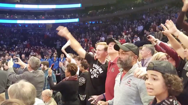 Hootie & the Blowfish frontman Darius Rucker is the biggest South Carolina basketball fan there is.