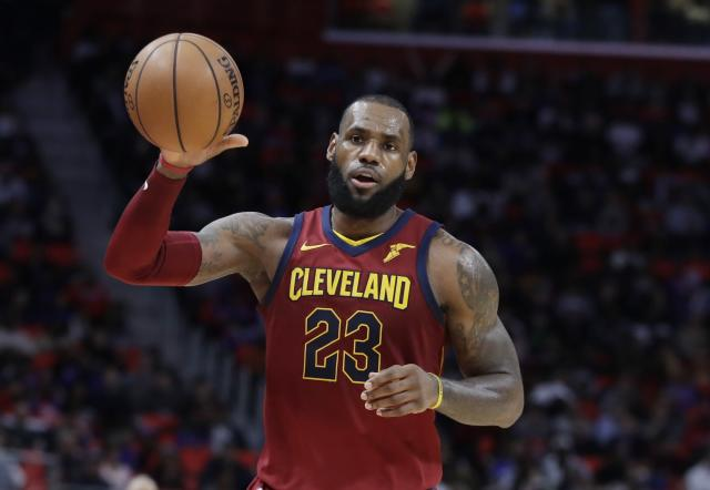 LeBron is starring in an animated film that isn't Space Jam. (AP)