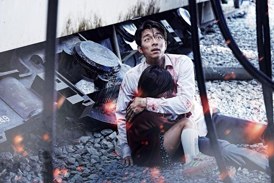 "<h1 class=""title"">TRAIN TO BUSAN, (aka BUSANHAENG), GONG Yoo, holding KIM Soo-Ahn, 2016. © Well Go USA Entertainment</h1><cite class=""credit"">Courtesy Everett Collection</cite>"