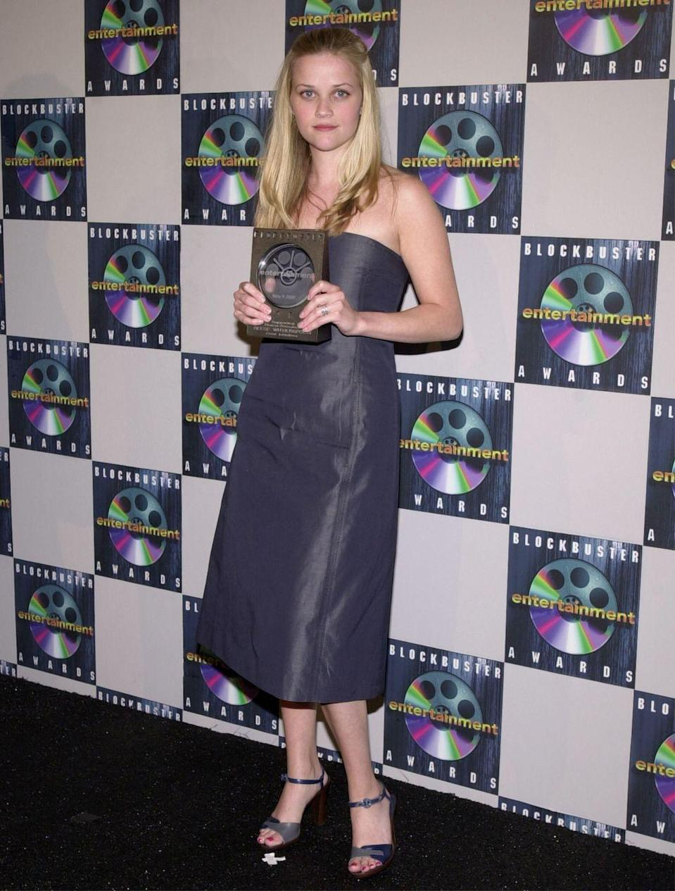 <p>Forget the Oscars and Golden Globes, The Blockbuster Entertainment Awards honored the most popular movies and stars that the stuffier award shows often overlooked. The televised show ran from 1995-2001, and award recipients included Tom Cruise, Reese Witherspoon, and Jim Carrey. </p><p>Source: <em>The Last Blockbuster </em>(2020)</p>
