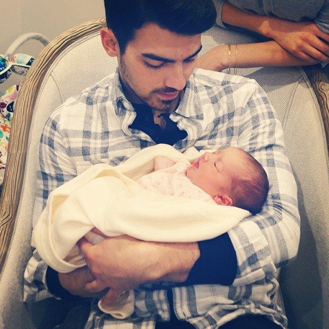"""From the minute <a href=""""https://people.com/parents/kevin-jonas-daughter-alena-paris-eiffel-tower-photo-danielle-jonas/"""">Kevin and Danielle Jonas' daughter Alena</a> was born in February 2014, her uncles have been obsessed with her."""