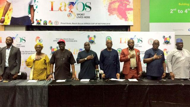 Lagos ready to host Africa Beach Soccer Cup of Nations
