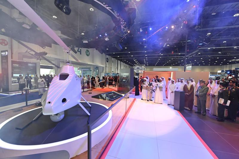 Meet Garmousha: A new rotary-wing drone made in the UAE