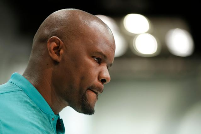 Miami Dolphins head coach Brian Flores said his team will not tank this season. (AP)