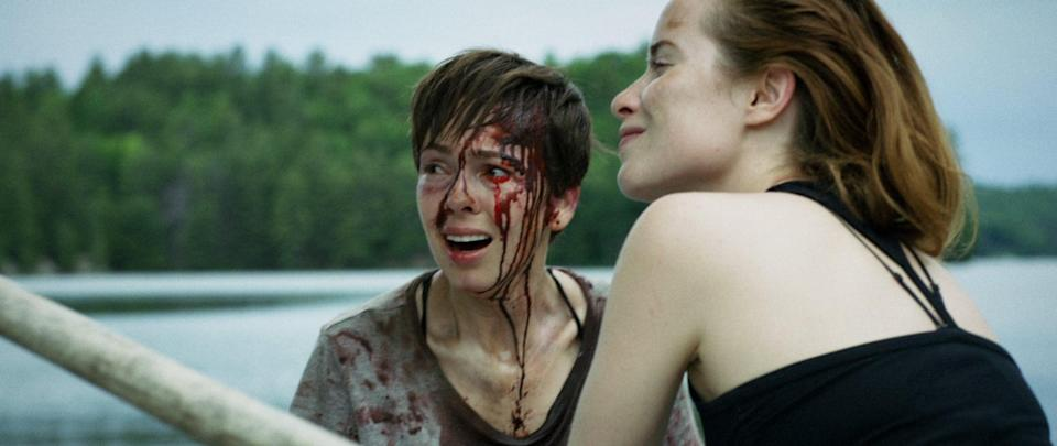 """<p>When a couple goes to a remote cabin to celebrate their anniversary, it soon becomes evident that one of them has a dark side and is out for blood.</p> <p><a href=""""https://www.netflix.com/search?q=What%20Keeps%20You%20Alive&amp;jbv=80998837"""" class=""""link rapid-noclick-resp"""" rel=""""nofollow noopener"""" target=""""_blank"""" data-ylk=""""slk:Watch What Keeps You Alive on Netflix now."""">Watch <strong>What Keeps You Alive</strong> on Netflix now.</a></p>"""