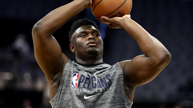 New Orleans Pelicans forward Zion Williamson will be on a minutes restriction when he makes his NBA debut.