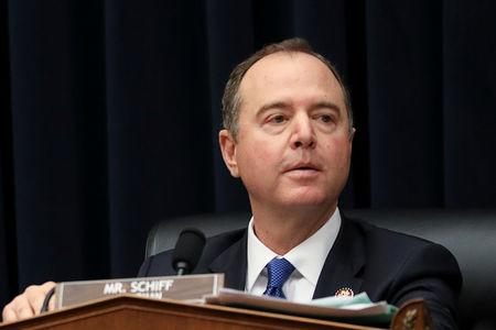 House Intelligence Committee Chairman Adam Schiff (D-CA) listens during a House Intelligence Committee hearing titled