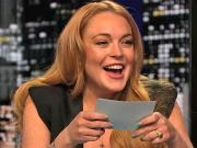 Lindsay Lohan Mocks Kristen Stewart, Harry Styles While Guest-Hosting 'Chelsea Lately' (Video)