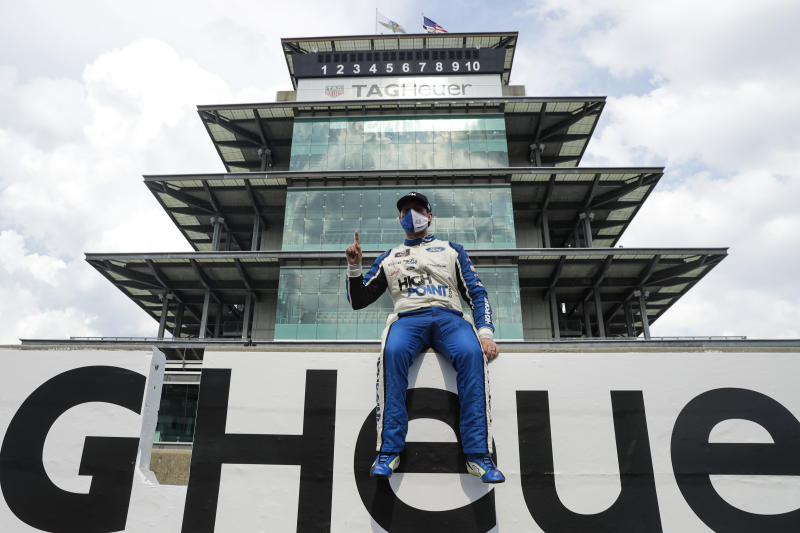 Briscoe wins 2nd straight to complete dream weekend at Indy