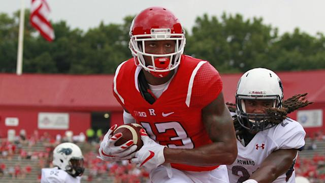 Rutgers wide receiver Carlton Agudosi will visit the Cardinals just a few days before the 2017 NFL Draft, a source tells SN.
