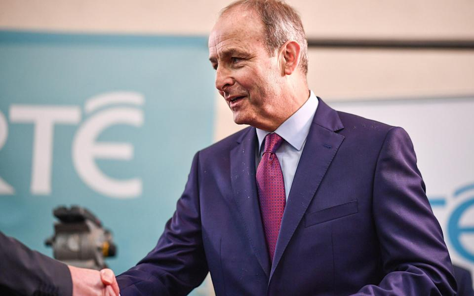 Micheal Martin was speaking on the Andrew Marr show this morning - Getty