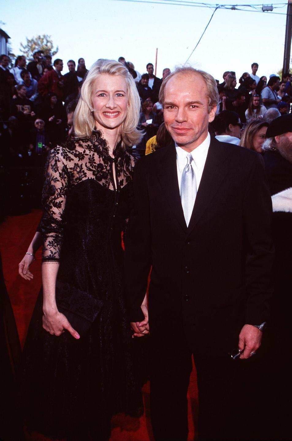 """<p>Thorton popped the question in 1998 but they split a year later when the actor allegedly left Dern to marry Angelina Jolie. """"I left our home to work on a movie, and while I was away, my boyfriend got married, and I've never heard from him again,"""" Dern <a href=""""http://www.nydailynews.com/entertainment/back-women-billy-bob-thornton-article-1.2753752"""" rel=""""nofollow noopener"""" target=""""_blank"""" data-ylk=""""slk:told Talk Magazine"""" class=""""link rapid-noclick-resp"""">told <em>Talk Magazine</em></a>. </p>"""