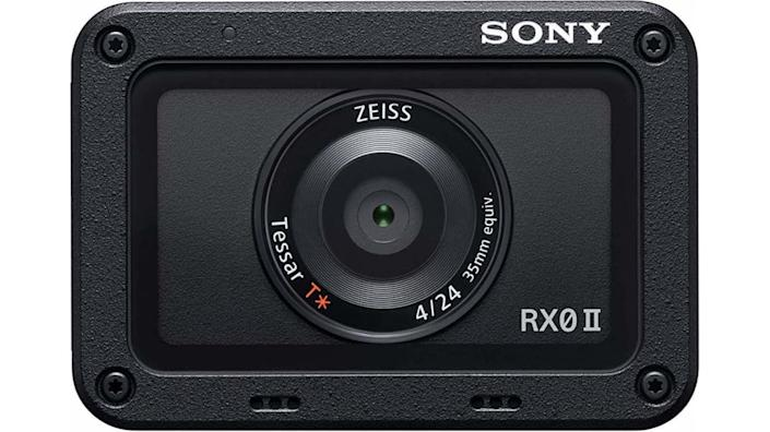 The Sony RX0 is Sony's RX-series image quality in an action camera-like design.