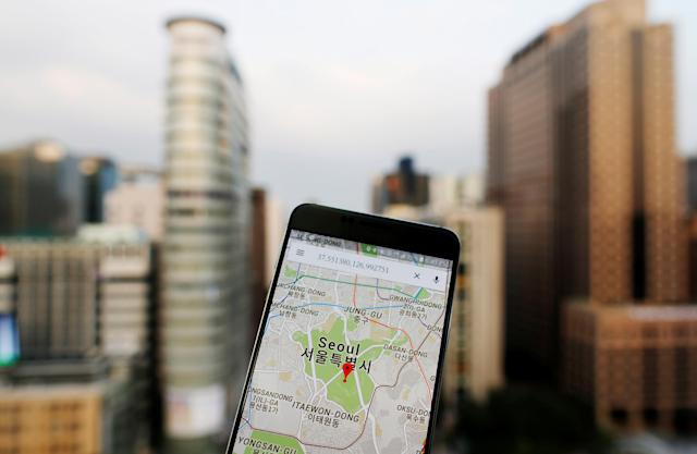 <p>No. 6: Google Maps<br>14 per cent say they can't live without it.<br>(Reuters) </p>
