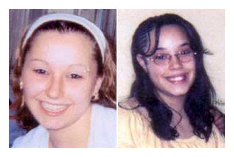 FBI file photos of Amanda Berry (L) and Georgina DeJesus