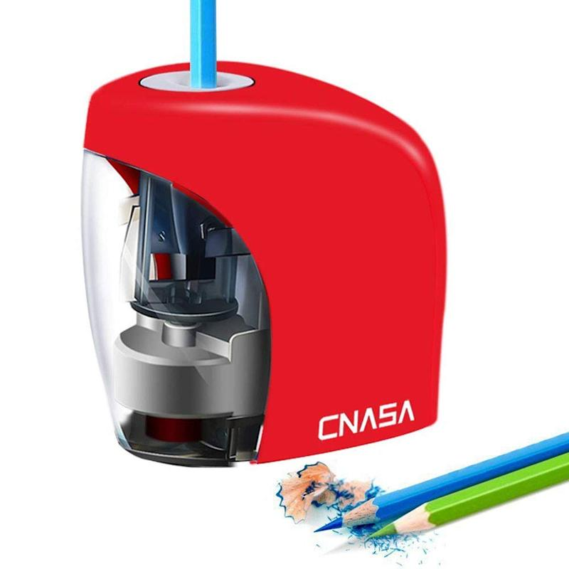 Heavy Duty Electric Pencil Sharpener, Automatic Sharpener for No.2 and Colored Pencils