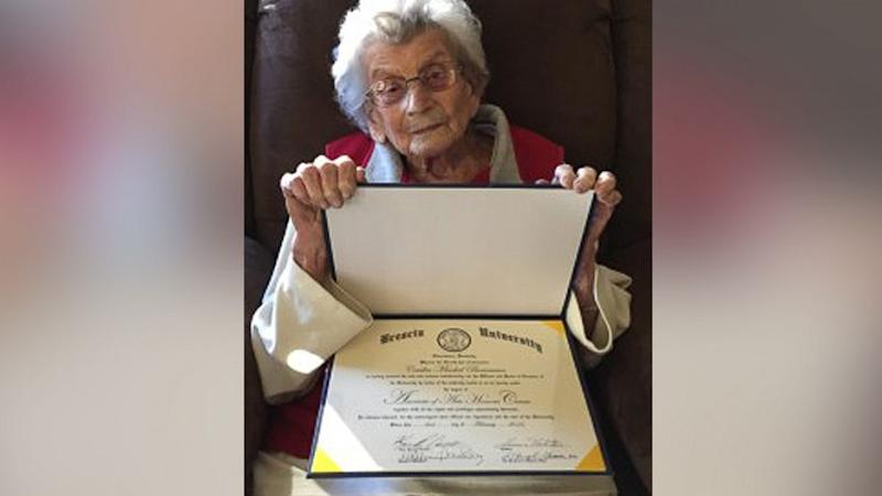 102-Year-Old Who Received Diploma 59 Years After First Class Has Died
