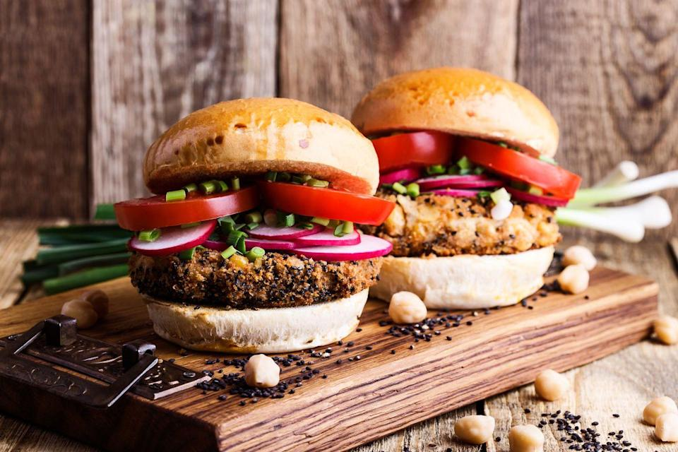 <p>That's right—the veggie burgers we see popping up on menus everyone started back in the 1980s with the VegeBurger, which was launched in 1982 and became a top selling patty by the end of the decade.</p>