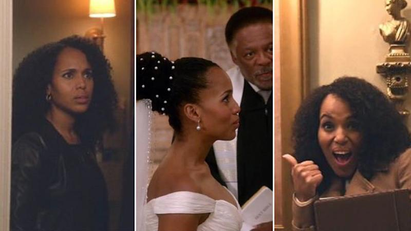 "Olivia Pope Wore Her Hair Natural for ""Scandal"" 100"
