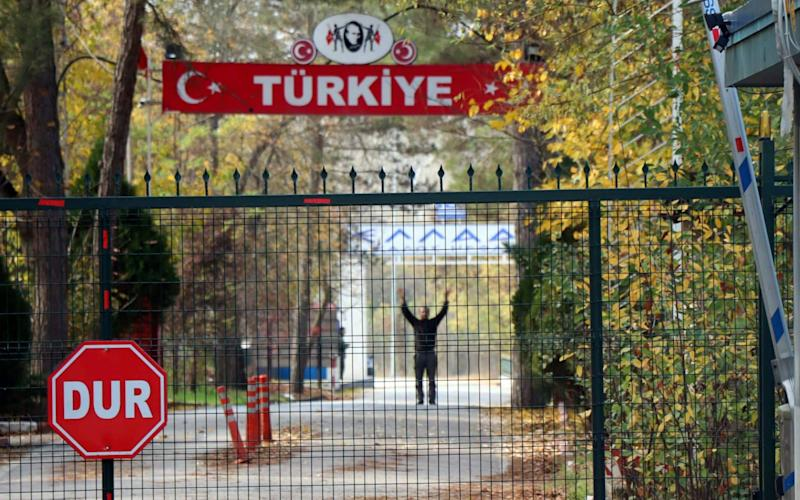 Muhammad Darwis Bassam, a 39-year-old US citizen was deposited him at a Greek border checkpoint on Monday. Greek authorities refused to allow him, leading to a bizarre stalemate which saw the alleged jihadist waiting for three days in no-man's land between Greece and Turkey. - REUTERS
