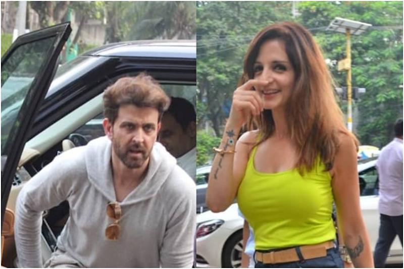 Hrithik Roshan, Sussanne Khan Step Out Together for Sunday Brunch with Kids, See Pics