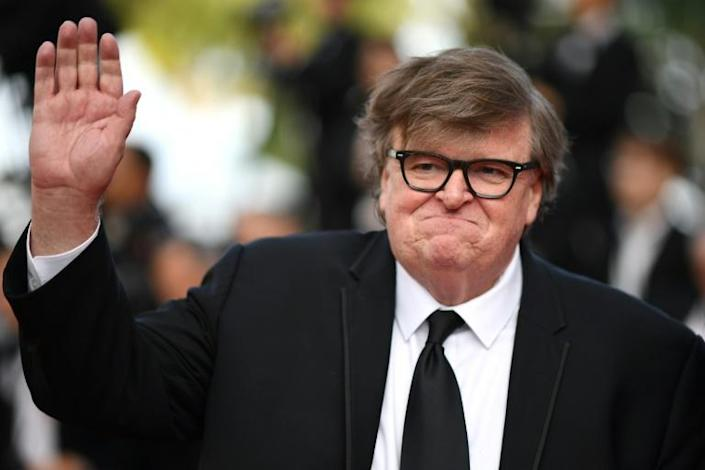 US filmmaker Michael Moore earned plaudits from President Donald Trump for criticizing the performance of former special prosecutor Robert Mueller at congressional hearings about the Russian election interference probe (AFP Photo/LOIC VENANCE)