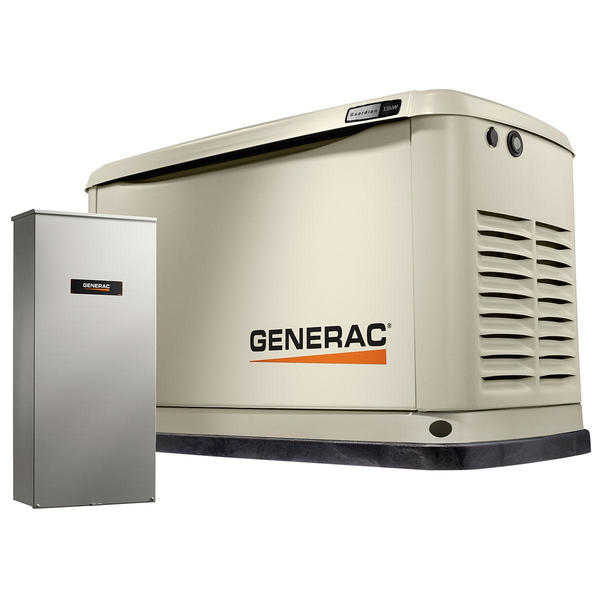 Generac Guardian 13,000 Watt Standby Generator with 200-Amp Transfer Switch ('Multiple' Murder Victims Found in Calif. Home / 'Multiple' Murder Victims Found in Calif. Home)