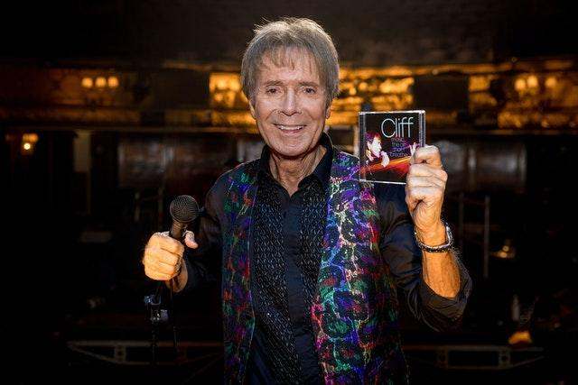 Sir Cliff Richard to release new album