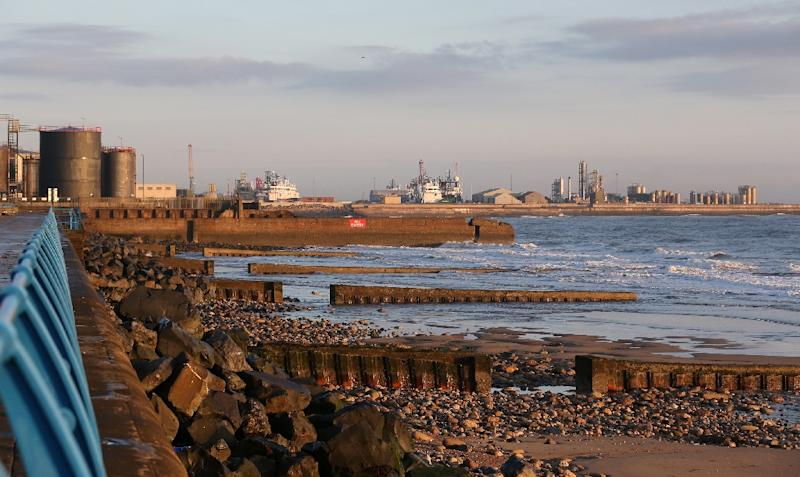 Heavy industry has largely evaporated in Sunderland, a city in northeast England that voted in favour of leaving the EU (AFP Photo/SCOTT HEPPELL)