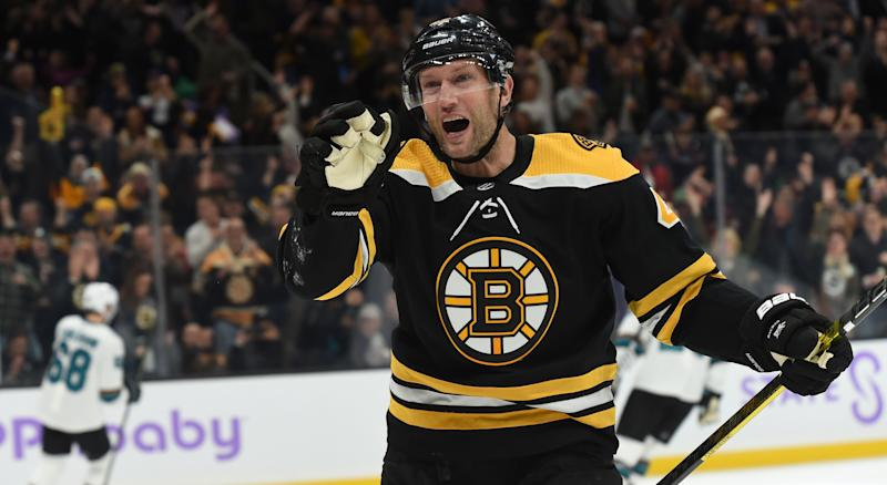 The Bruins won't just be able to make David Backes, and his large salary, disappear. (Getty)