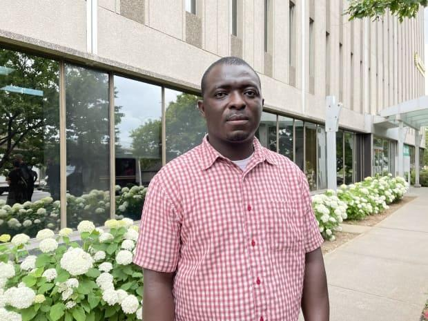Mamadou Konaté has been in Quebec since early February 2016 and worked in long-term care homes at the height of the first wave of the COVID-19 pandemic, but Canada wants to send him back to Ivory Coast. (Valeria Cori-Manocchio/CBC - image credit)