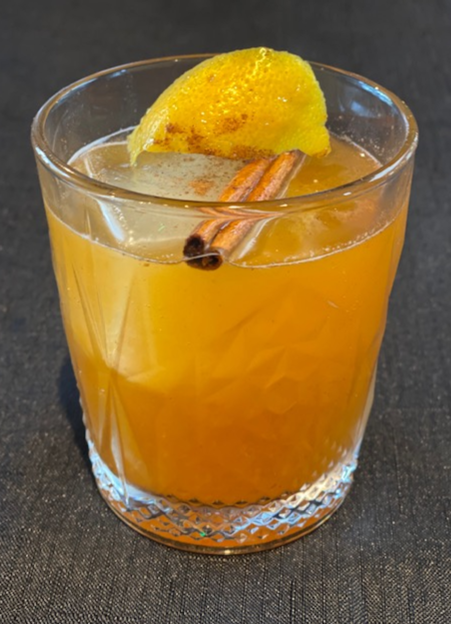 "<p>This Old-Fashioned recipe is a combination of bourbon and pumpkin spice syrup with fresh lemon juice. Picture yourself sitting on your front porch enjoying the <a href=""https://www.theactivetimes.com/travel/best-fall-foliage-spots-all-50-states-and-dc?referrer=yahoo&category=beauty_food&include_utm=1&utm_medium=referral&utm_source=yahoo&utm_campaign=feed"" rel=""nofollow noopener"" target=""_blank"" data-ylk=""slk:beautiful fall foliage"" class=""link rapid-noclick-resp"">beautiful fall foliage</a> with this cocktail.</p> <p><a href=""https://www.thedailymeal.com/recipe/pumpkin-old-fashioned?referrer=yahoo&category=beauty_food&include_utm=1&utm_medium=referral&utm_source=yahoo&utm_campaign=feed"" rel=""nofollow noopener"" target=""_blank"" data-ylk=""slk:For the Pumpkin Old Fashioned recipe, click here."" class=""link rapid-noclick-resp"">For the Pumpkin Old Fashioned recipe, click here.</a></p>"