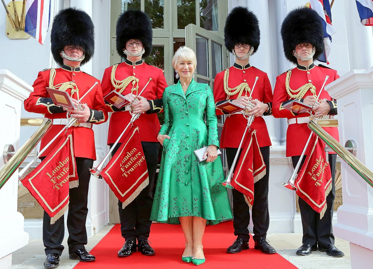 Helen Mirren Gets Regal in London, Plus Prince Harry, Pete Davidson