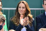 """<p>Wimbledon is back for 2021, which means not only enjoying the tennis, but also all the court-side style. Last year, the tennis championships were <a href=""""https://www.harpersbazaar.com/uk/people-parties/a32014393/wimbledon-cancelled-coronavirus-pandemic/"""" rel=""""nofollow noopener"""" target=""""_blank"""" data-ylk=""""slk:cancelled due to the Covid-19 pandemic"""" class=""""link rapid-noclick-resp"""">cancelled due to the Covid-19 pandemic</a> - the first time the event had not taken place since World War II. </p><p>This year, we're hoping for the return of some royal style in the form of the Duchess of Cambridge - who is a patron of the All England Lawn Tennis and Croquet Club (AELTC) and a keen tennis fan, regularly in appearance at the annual tournament. Royals aside, our favourite fashion muses have also been spotted attending the iconic tennis event in the past - from Sienna Miller to Alexa Chung and Keira Knightley. <a href=""""https://www.harpersbazaar.com/uk/fashion/style-files/news/g36898/celebrities-at-wimbledon/"""" rel=""""nofollow noopener"""" target=""""_blank"""" data-ylk=""""slk:Look back on our favourite celebrity style moments in Wimbledon history, here."""" class=""""link rapid-noclick-resp"""">Look back on our favourite celebrity style moments in Wimbledon history, here. </a></p><p>While the players themselves famously have to partake in Wimbledon's famous all-white rule - see <a href=""""https://www.harpersbazaar.com/uk/fashion/style-files/g22470/how-wimbledon-fashion-has-changed/"""" rel=""""nofollow noopener"""" target=""""_blank"""" data-ylk=""""slk:how the on-court style has changed over the years, here"""" class=""""link rapid-noclick-resp"""">how the on-court style has changed over the years, here</a> - it's not uncommon for guests to tap into the 'Wimbledon whites' dress code, too.</p><p>Here, we track all the stars who've been seen enjoying the return of the tennis tournament in 2021. </p>"""