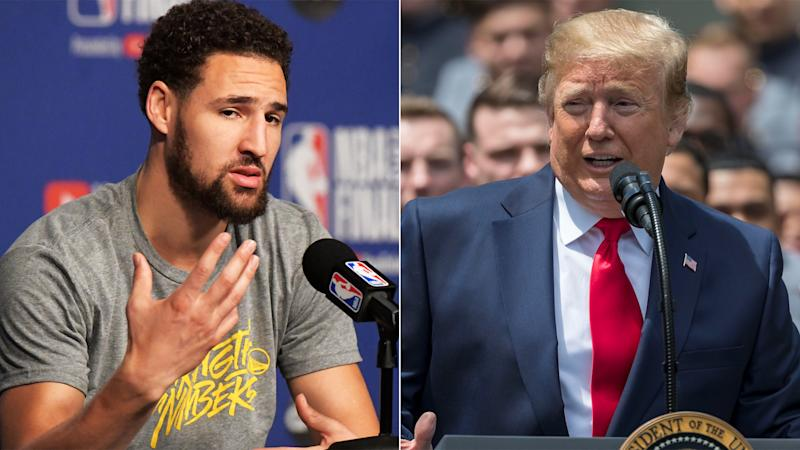Klay Thompson rips Trump administration for treatment of Bahamians