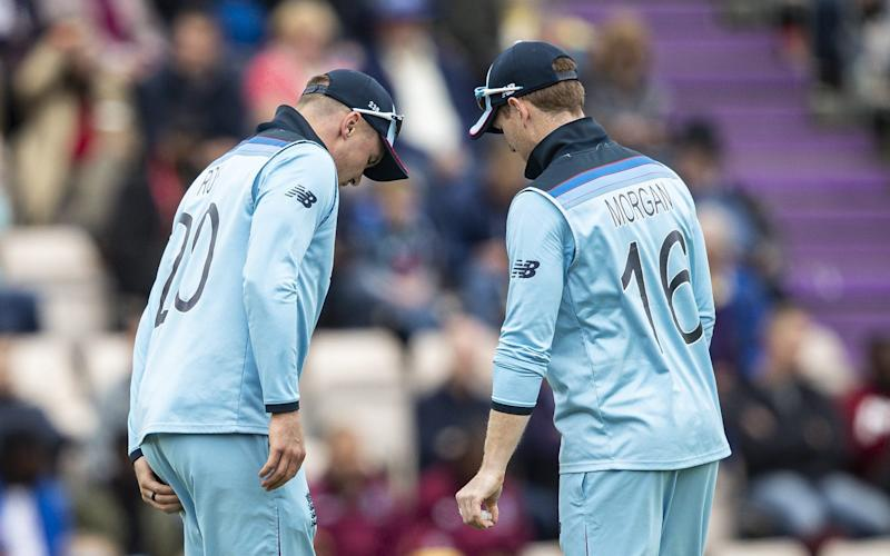 England will monitor the fitness of Jason Roy and captain Eoin Morgan - Getty Images Europe