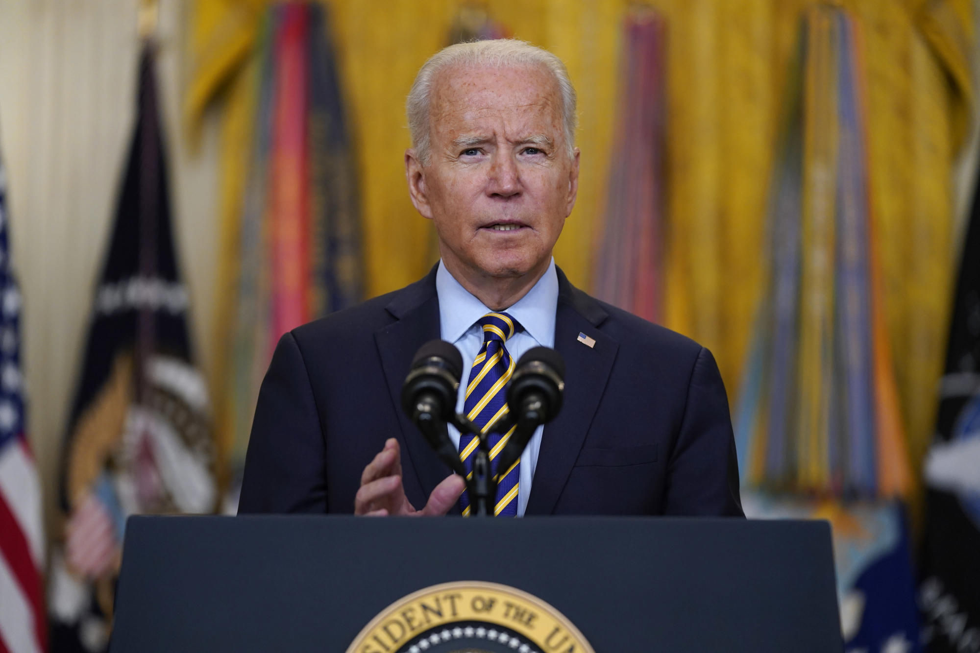 'Overdue': Biden sets Aug. 31 for US exit from Afghanistan