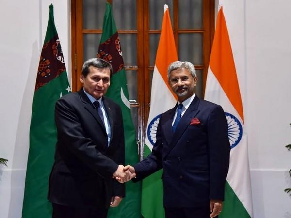 Jaishankar extends independence day greetings to Turkmenistan counterpart [File Pic]