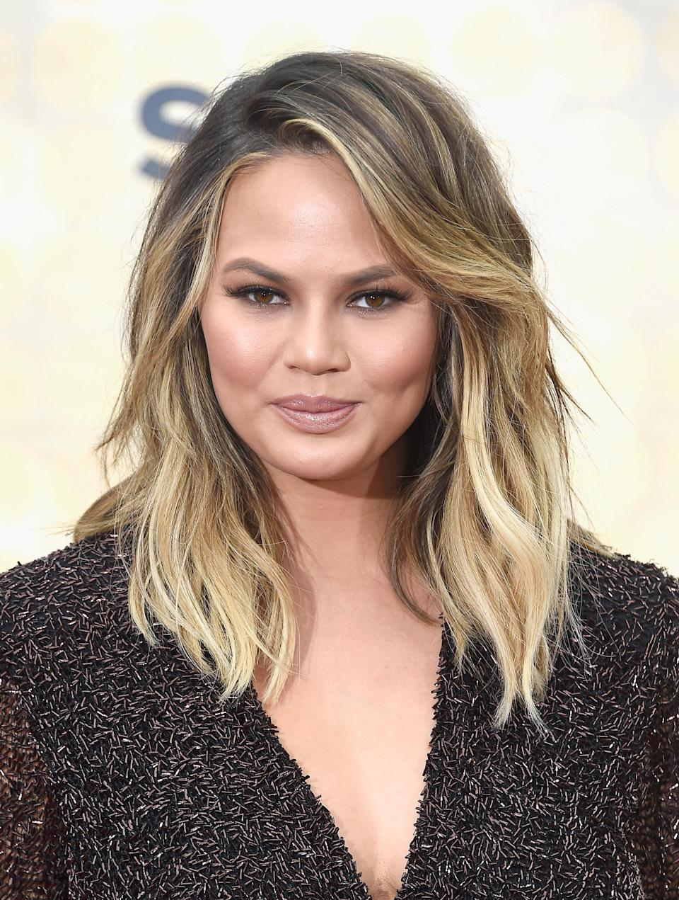 """<p>Teigen is a woman of many talents: model, cookbook author, Velveeta lover, and genius who once Tweeted """"I feel like even potato chips can be considered clean."""" As a true foodie, her indulgences are well documented on Insta: <a href=""""https://www.instagram.com/p/BC_PR8sJjaP/?hl=en"""" rel=""""nofollow noopener"""" target=""""_blank"""" data-ylk=""""slk:Shake Shack"""" class=""""link rapid-noclick-resp"""">Shake Shack</a>, <a href=""""https://www.instagram.com/p/78wmnLJjeQ/"""" rel=""""nofollow noopener"""" target=""""_blank"""" data-ylk=""""slk:Taco Bell"""" class=""""link rapid-noclick-resp"""">Taco Bell</a>, a visionary combination of <a href=""""https://www.instagram.com/p/9aUWqGJjfk/?hl=en"""" rel=""""nofollow noopener"""" target=""""_blank"""" data-ylk=""""slk:Cap'n Crunch and Fruity Pebbles"""" class=""""link rapid-noclick-resp"""">Cap'n Crunch and Fruity Pebbles</a>, <a href=""""https://www.instagram.com/p/8a8gYoJjRe/?hl=en"""" rel=""""nofollow noopener"""" target=""""_blank"""" data-ylk=""""slk:McDonald's"""" class=""""link rapid-noclick-resp"""">McDonald's</a>, <a href=""""https://www.instagram.com/p/5eqaXwpjWR/"""" rel=""""nofollow noopener"""" target=""""_blank"""" data-ylk=""""slk:pizza"""" class=""""link rapid-noclick-resp"""">pizza</a>, and <a href=""""https://www.instagram.com/p/8b770EJjRb/?hl=en"""" rel=""""nofollow noopener"""" target=""""_blank"""" data-ylk=""""slk:cinnamon rolls"""" class=""""link rapid-noclick-resp"""">cinnamon rolls</a> to name a few. """"There's a balance with anything,"""" <a href=""""http://www.delish.com/food/a43466/chrissy-teigen-diet/"""" rel=""""nofollow noopener"""" target=""""_blank"""" data-ylk=""""slk:Teigen, who admits to eating fast food a few times a week, told Delish"""" class=""""link rapid-noclick-resp"""">Teigen, who admits to eating fast food a few times a week, told Delish</a>. """"When I cook, everything is organic and very clean; I'm meticulous and kind of insane about it. But sometimes you just want a Doritos Locos Taco<span>.""""</span></p>"""