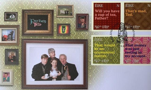 Ireland launches Father Ted stamps to mark beloved comedy's 25th anniversary