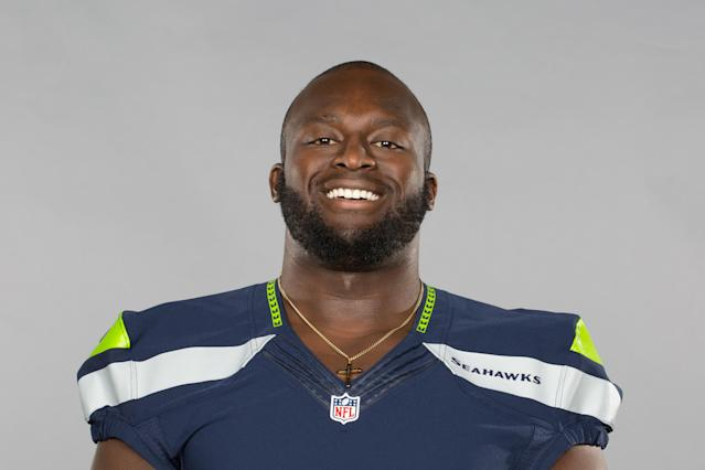 Seattle Seahawks OT Rees Odhiambo was injured on Sunday. (AP)