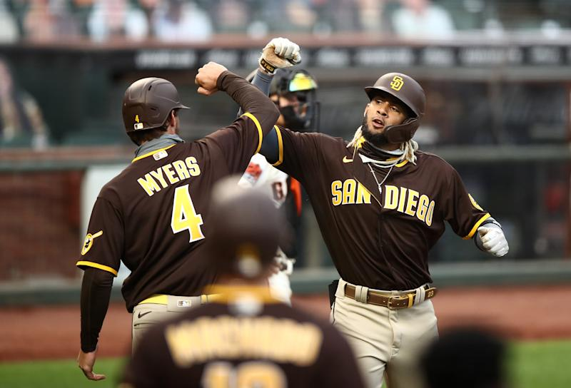 The Padres are looking like a legit contender. (Photo by Ezra Shaw/Getty Images)