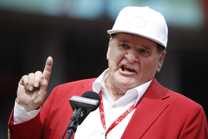 Pete Rose is still banned from baseball, and no government decisions about sports gambling are going to change that. (AP)