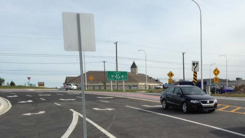 Fredericton roundabout was safer than average in debut year, study finds