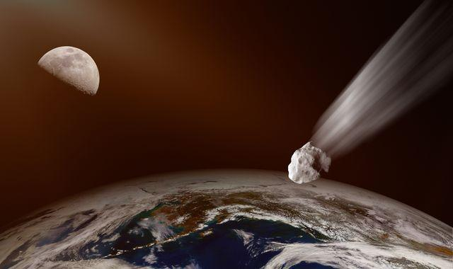 Asteroid the size of a bus to hurtle past Earth closer than satellites tomorrow, NASA says