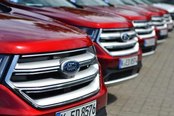 When introduced in 2014, the Ford Edge was the largest SUV from Ford on the European market (Getty )