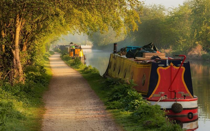 Interest in canal boat holidays is on the rise - Getty