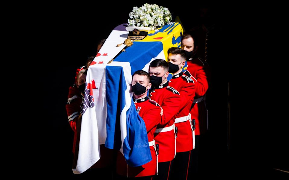The viewing figures for Saturday's deeply moving funeral service suggest there remains huge public appetite for the pomp and pageantry of set-piece royal events - Samir Hussein/WireImage