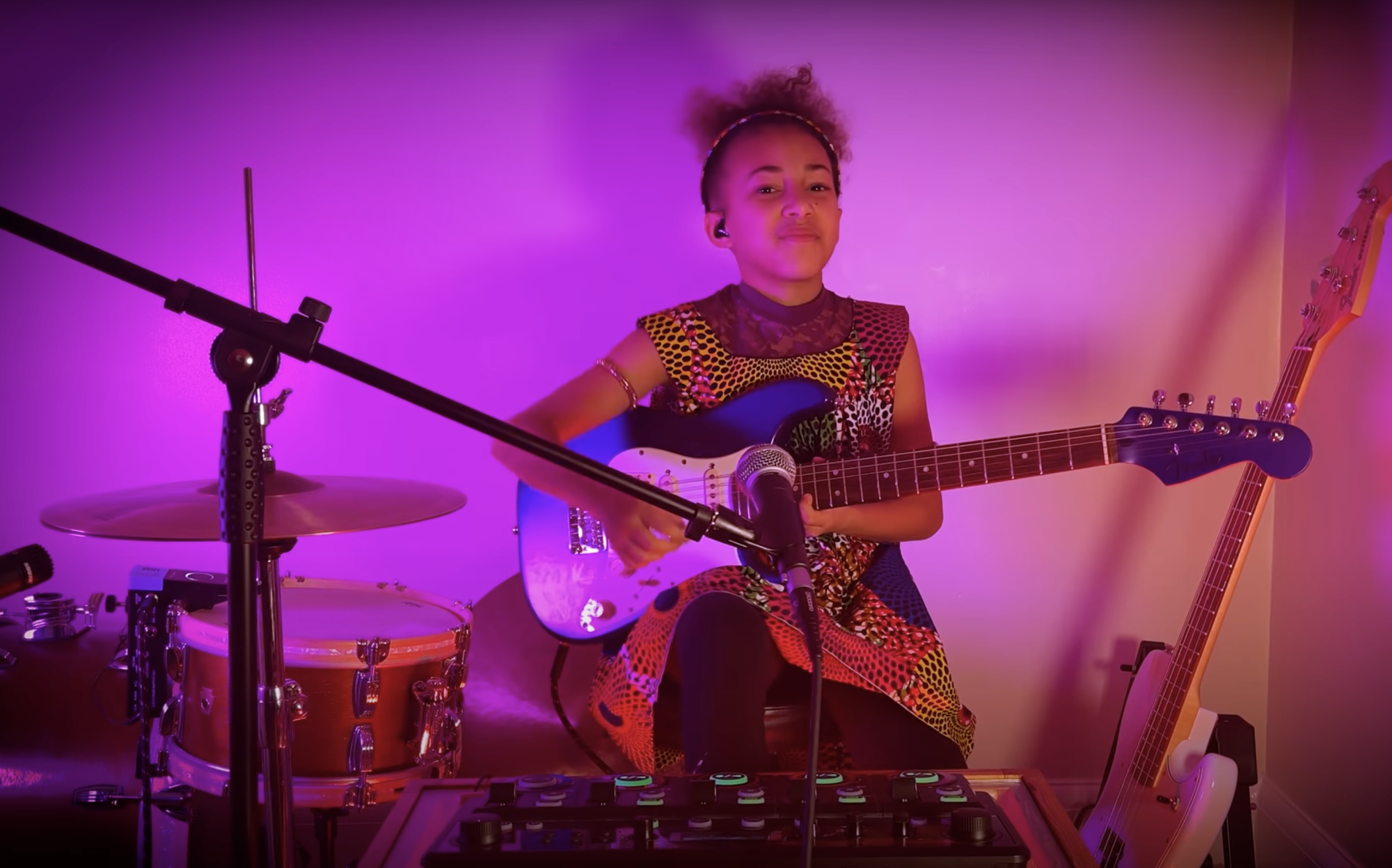 Nandi Bushell Gets Flea's Approval With 'Under the Bridge' Cover