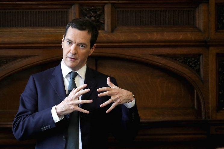 MP George Osborne has been appointed editor of the Evening Standard (Getty)
